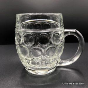 Bierkrug 0,5 l Getränke Friesacher Mietglas