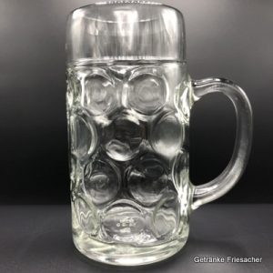 Masskrug Getränke Friesacher Mietglas