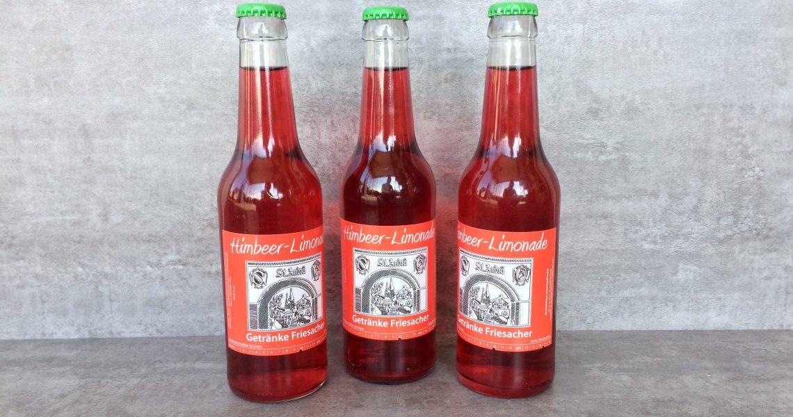 Himbeerkracherl  von Getränke Friesacher im Lavanttal
