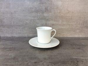 Kaffeetasse und Untertasse Verleih Getränke Friesacher - Original