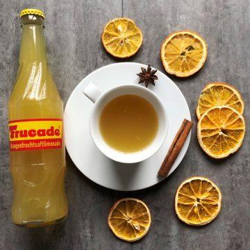 Heiße Frucade und andere alkoholfreie Heißgetränke