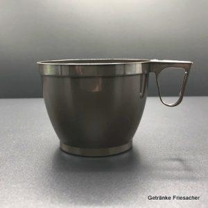 Kaffeebecher Plastik mit Henkel Getränke Friesacher