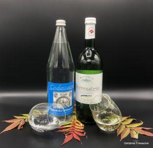 Grüner Veltliner Herrenstein Sodawasser Getränke Friesacher