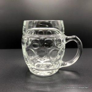 Bierkrug 0,3 l Getränke Friesacher Mietglas