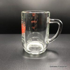 Weinkrug Spritzerglas mit Henkel Getränke Friesacher Mietglas