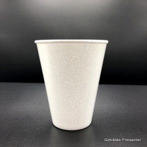 Thermobecher 0,25 l Weiß Getränke Friesacher
