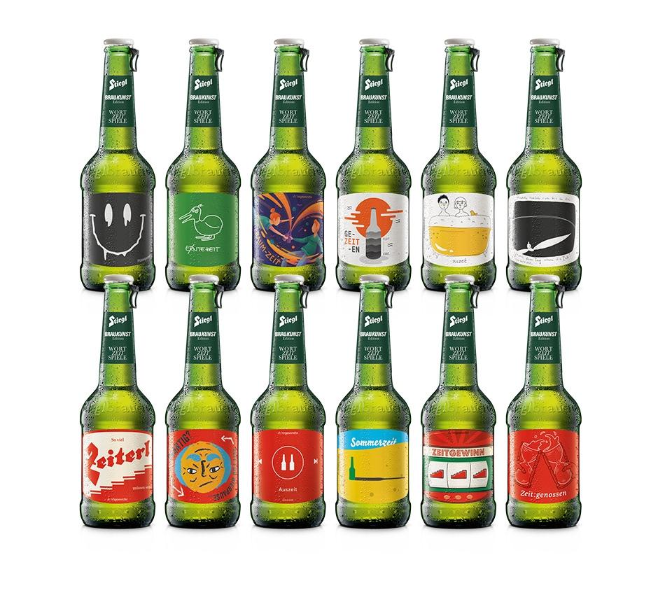 Stiegl Braukunst Mehrweg Bier 0,3 l Glasflasche