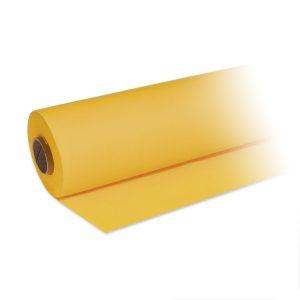Tischtuchrolle Papier premium gelb